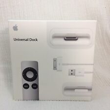 Apple MC746LL/A Universal Dock iPod or iPhone w/Remote 30Pin FACTORY SEALED BOX