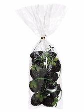 Realistic Artificial Blackberries | Set of 14