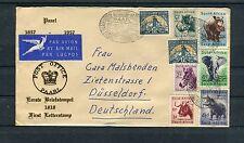 Südafrika dekorativer Luftpostbrief Paarl-Düsseldorf - b2003