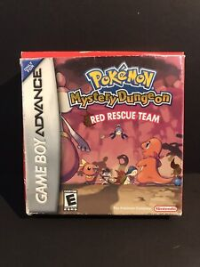 Pokemon Mystery Dungeon: Red Rescue Team GBA Missing Manual!