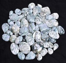 2380 Cts Designer Natural Moss Agate Assort Cabochon Gemstones Lot 67 Pieces