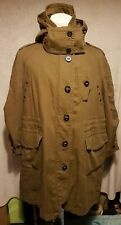 BURBERRY BRIT Mens Oversized Fishtail Parka Coat Size: Large VERY GOOD Condition