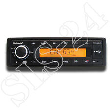 Continental tr7412ub-or mp3 autoradio M. bluetooth usb auxiliaire dans 12v radio FM tuner