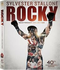 Rocky: Complete Sylvester Stallone Movies 1-6 40th Anniversary Boxed BluRay Set