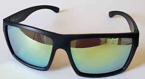 Authentic UVEX lgl 29 Black Frame Yellow Mirror Lens Cycling Sunglasses 100% UV