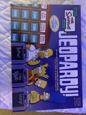 The Simpsons Edition Jeopardy! Board Game brand new factory sealed