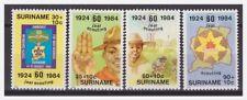 Surinam / Suriname 1984 Padvinderij scouting pfadfinder scoutisme MNH