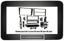 Einbaurahmen mit Ablagefach für Lexus IS 200 IS 300 IS 400 Radioblende 1 / 2DIN