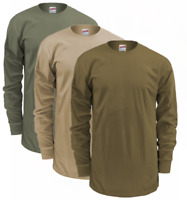 US Military Soffe GI Long Sleeve T-Shirt, Slightly Irregular, Poly-Cotton Blend