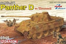 Dragon 1:35 6945 Sd.Kfz.171 Panther Ausf.D w/Zimmerit (2 in 1) Model Military Ki