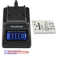Kastar Battery LCD Quick Charger for Nikon EN-EL5 EL5 Nikon Coolpix P100 Camera