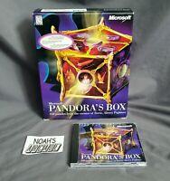 Pandora's Box Original Microsoft PC Big Box Game by Alexey Pajitnov Tetris RARE