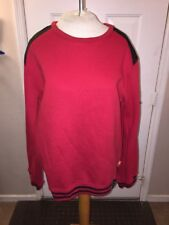 Standard & Grind Sweater Red Mens XL