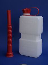 JERRY CAN 1.5L + spout, HDPE, Bike ATV Scooter, Fuel Friend