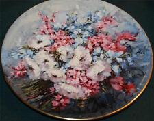 ROYAL DOULTON Bone China Lt Ed Plate: Hahn Vidal - From My Mother's Garden