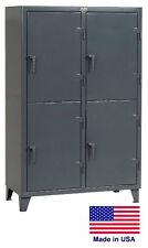 PERSONNEL - PERSONAL LOCKER Coml / Industrial - 4 Lockers - 78 H x 24 D x 50 W