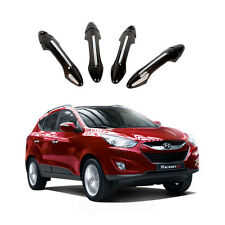 New Carbon Door Handle Cover Moulding Set for Hyundai Tucson iX35 2011-2013 K784