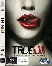 True Blood : Season 1 (DVD, 2009, 5-Disc Set)Genuine & unSealed (D113