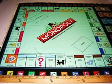 Fabric QT MONOPOLY GAME BOARD PANEL money game pieces Panel