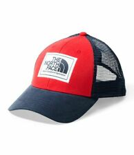 The North Face Men's Mudder Trucker Hat Red/Navy ONE Size NEW with tag