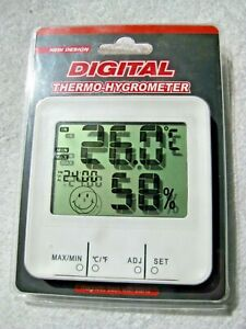 Digital Wireless Indoor Thermo-Hygrometer Thermometer & Humidity Meter