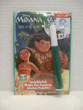 Disney MOANA Invisible Ink & Sticker Book