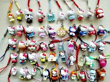Wholesale 50PCS lovely Hellokitty Cell Mobile Phone &bag charms straps