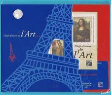 Francia 1999 ** Post freschi blocco 20 MiNr. 3375-3377 nella cartella non aperto!