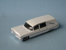 Matchbox 1963 Cadillac Hearse White Body Goth Funeral Toy Model Car 70mm
