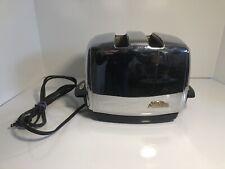 Vintage Sunbeam Chrome Toaster Model T-35 Automatic Radiant Control TESTED