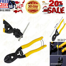 8 Cutting Pliers Wire Cutter Steel Cable Cuts Copper Wire Rope Spring Wire