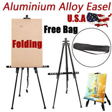 Artist Folding Easels Aluminium Adjustable Tripod Display Stand Craft Supplies