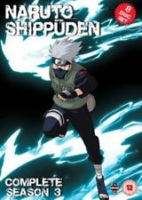 Naruto Shippuden Complete Series 3 DVD All Episodes Third Season UK Release NEW