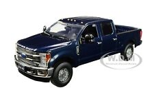 FORD F-250 CREW CAB SUPER DUTY PICKUP DARK BLUE 1/50 DIECAST FIRST GEAR 50-3417