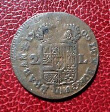 Pays Bas Espagnols - Belgique - Philippe V - Rare 2 liards 1709