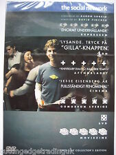 The Social Network(DVD, 2011) NEW SEALED (Nordic Packaging) Two Disc Edition PAL