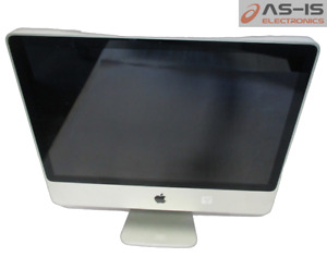 *AS-IS* Apple A1225 iMac Core2Duo T7700 @2.40GHz 4GB 320GB HDD DVD ROM AiO