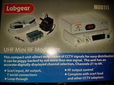 LABGEAR HIGH QUALITY RF MODULATOR FOR DVD/CCTV ETC UHF Mini RF