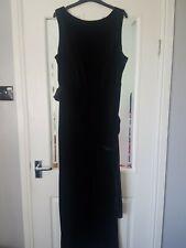m&s ladies black jumpsuit new 18