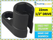"""Sensor De Oxígeno Lambda 22mm 1/2"""" Unidad Herramienta de Zócalo de eliminación de compensación + Alambre de agujero 26-8"""