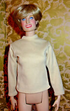Tonner Light Tan Long-Sleeve Top ONLY Fits: Jamieshow/Scarlett/Lucy/Gene/Diana
