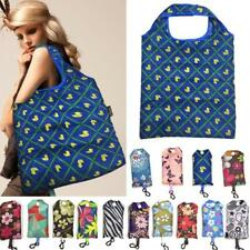 Reusable Foldable Shopping Bags Eco Grocery Bag Portable Storage Handbag Supply