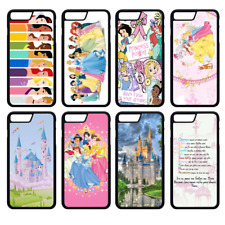 DISNEY PRINCESS CASTLE Phone Case Cover iPhone 4 5 SE 6 7 8 Plus X Comp