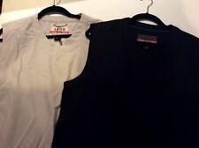 Izod X-Treme Function Golfwear Mens V-Neck Golf Vest Size Medium  -  Lot of 2