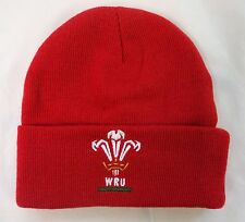 WALES RUGBY RED CORE CUFF BEANIE OFFICIAL MERCHANDISE BRAND NEW WITH TAGS