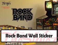 Rock Band Custom Vinyl Sticker