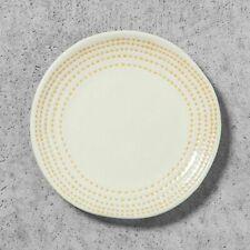 Hearth and Hand Magnolia Desert Plate Stoneare Round White Yellow New
