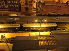 10 grüne 2-flammige 6V LED Bahnsteiglampen, 69mm, N Z