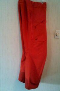 ARC'TERYX, Pro. Bright Gold Color -Men's SKI - Snowboarding Pants. L/G