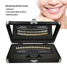 20 Colors Teeth Whitening 3d Shade Guide Tooth Bleaching Shade Chart With Mirror
